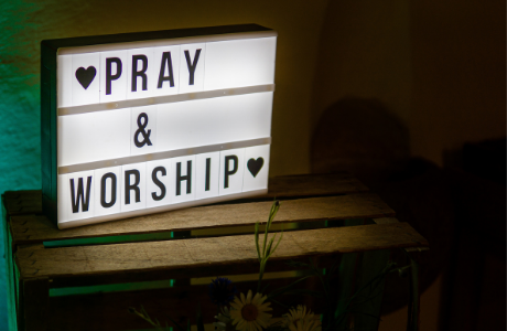 Prayer and worship nights give an opportunity for people to stop and soak in God's presence. Running every third Thursday of the month at 7.30pm.