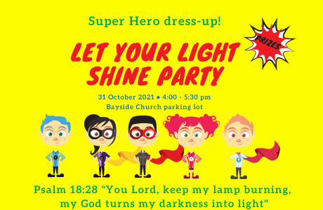 Let Your Light Shine Party