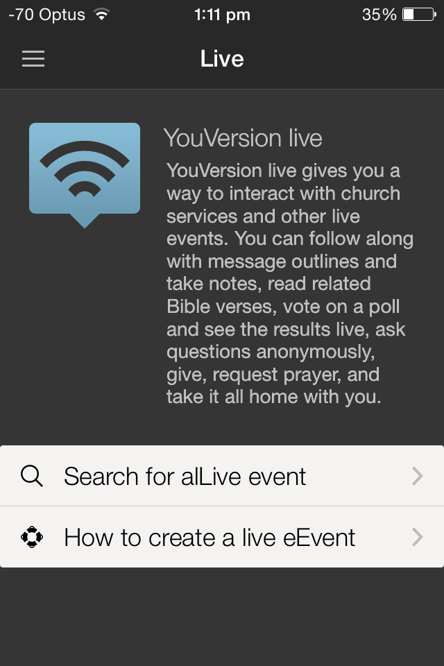 Bayside Church Melbourne » YouVersion Bible App Instructions